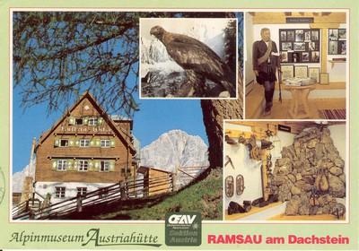 Austriahütte Öav-Sektion Austria, Alpinmuseum, Ramsau am dachstein