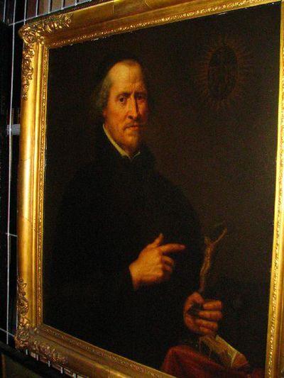 Portret van een pater jezuïet