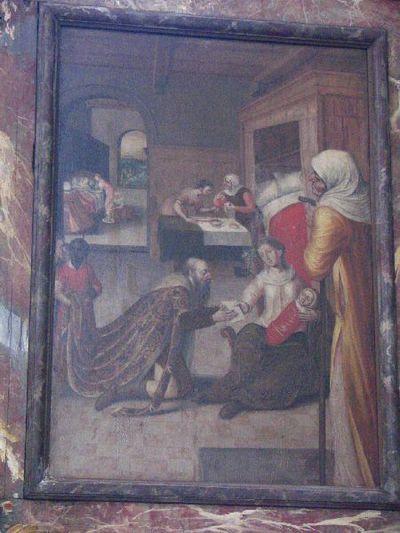 De geboorte van Johannes de Doper