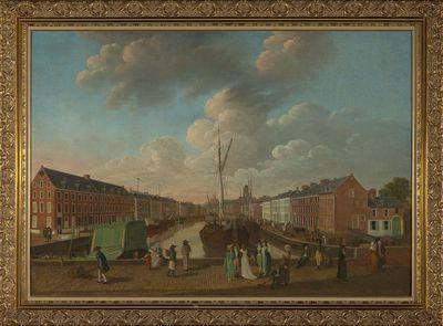 De Leuvense Vaart in 1804