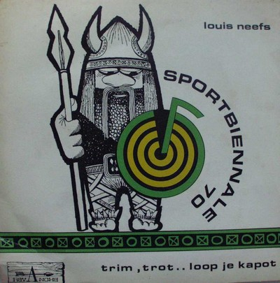 Louis Neefs zingt Trim, trot... loop je kapot ... wordt weer fit. Sportbiënnale 70
