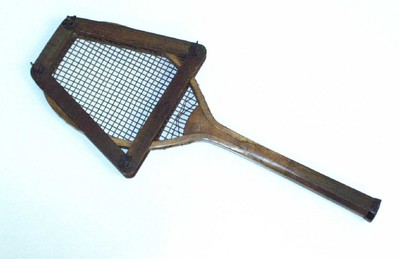 Image from object titled Tennisracket met pers