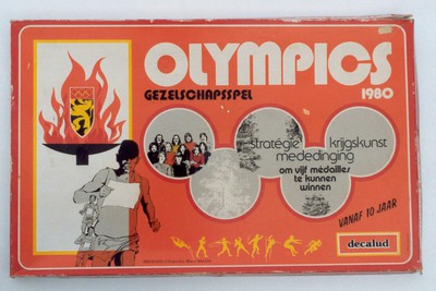 Image from object titled Gezelschapsspel 'Olympics 1980'