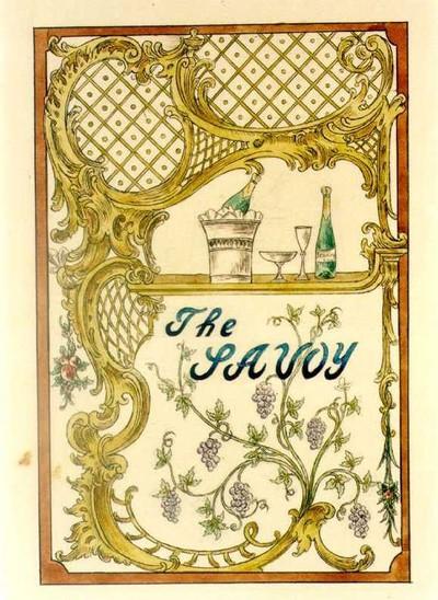 Image from object titled Manufacture de Céramiques Décoratives de Hasselt (1895-1954), ontwerptekening met een tegelpaneel voor het restaurant The Savoy, s.d., potlood, inkt, waterverf op papier.