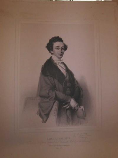 Joseph Schubert (1815-1885), Simonau & Toovey drukker, Portret van Jean Joseph Thonissen (1816-1891), 1849, lithografie.