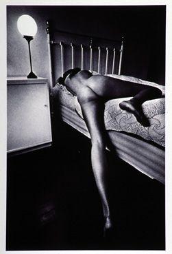 Femme sur un lit, Paris 1969