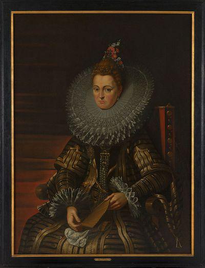Portret van aartshertogin Isabella