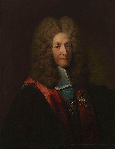 Portret van kanselier Louis Phélypeaux, graaf van Pontchartrain