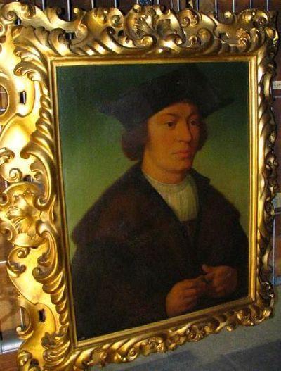Portret van de schilder Quinten Massijs