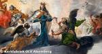 O.-L.-Vrouw stuurt twee engelen naar de H. Elisabeth om in Alsemberg een kerk te laten bouwen