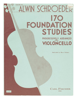 Schroeder, Alwin. 170 Foundation Studies, vol. 3 (New York, Carl Fischer, [ca. 1950])