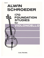 Schroeder, Alwin. 170 Foundation Studies, vol. 3 (New York, Carl Fischer, [ca. 1990])