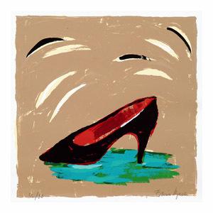 Schuh. Aus: 6 Paraphrasen zur Pop-Art