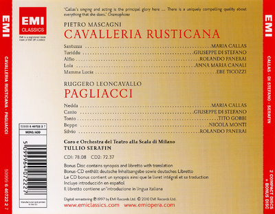 Image from object titled Cavalleria rusticana