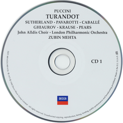 Image from object titled Turandot