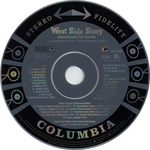 Image from object titled West Side story original Broadway cast recording