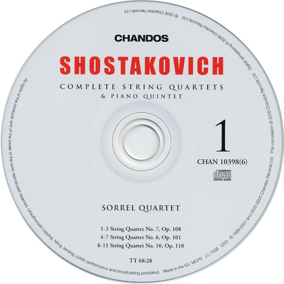 """Image from object titled CD 2:  Symphonies nos. 3 & 4 """"Tragic"""""""