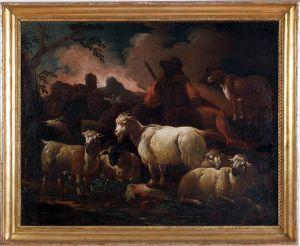 Krajolik sa pastirom