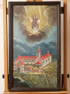 Veduta samostana Veternice