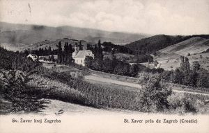 Image from object titled Zagreb - Sv. Ksaver