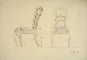 nacrt stolca