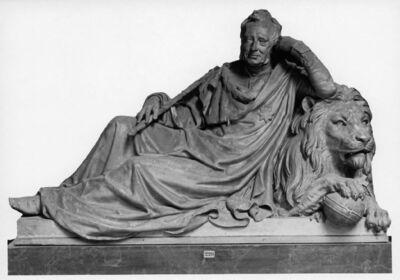 Modèle de la statue funéraire de Guillaume Ier des Pays-Bas (La Haye, 24 août 1772 - Berlin, 12 décembre 1843).