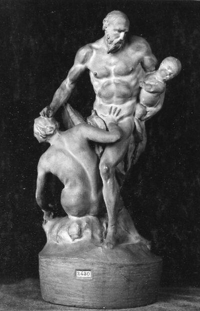 Saturne s'apprêtant à dévorer l'un de ses enfants