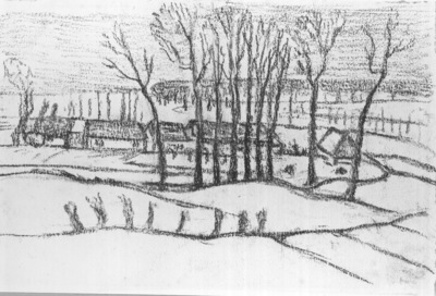 Neige en Brabant
