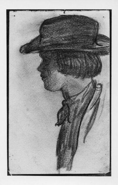 William Degouve de Nuncques à 19 ans
