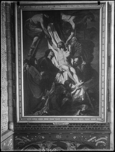 Image from object titled Jezus wordt van het kruis afgenomen