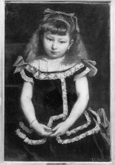 Portret van Juliette Quénel