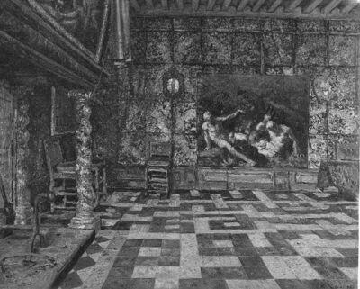 Salle dans la Maison hydraulique à Anvers