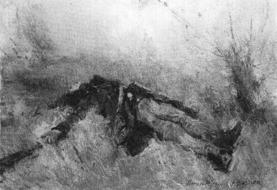 Soldat mort à l'Yser