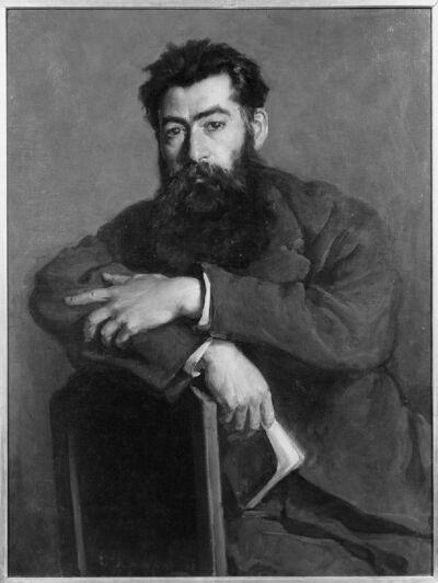 Portret van professor Paul Errera