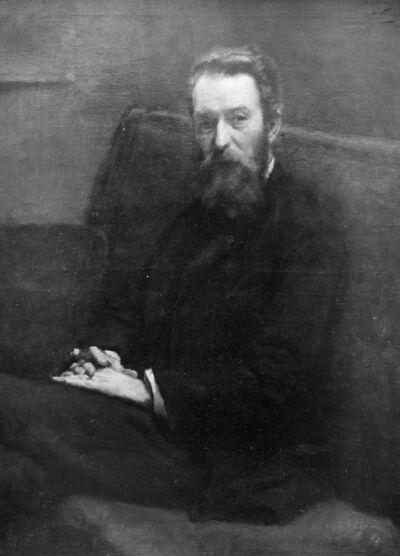 Portrait du peintre Frans Binjé
