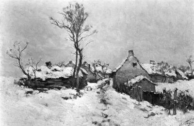 Neige à la Hulpe
