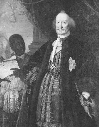Portret van Johan-Maurits, prins van Nassau-Siegen