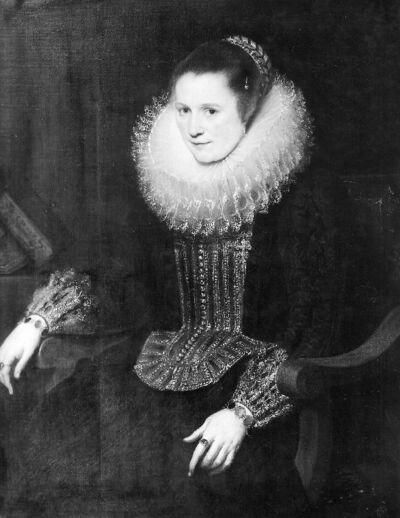 Anna Fredericx (? - 1670), echtgenote van Jan Roose Anna Fredericka van de Bouckhorst, echtgenote van Jan Roose