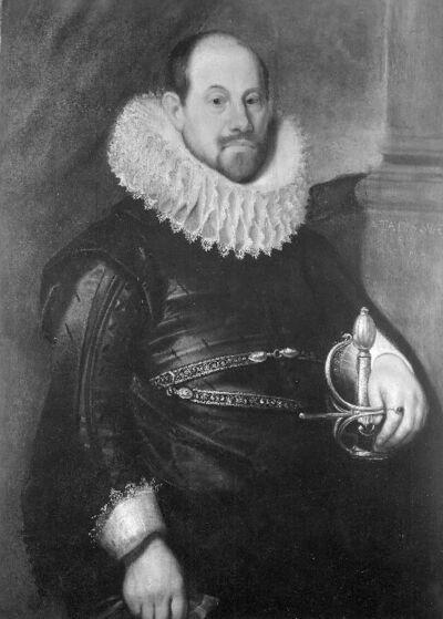 Portret van kapitein William Oakes