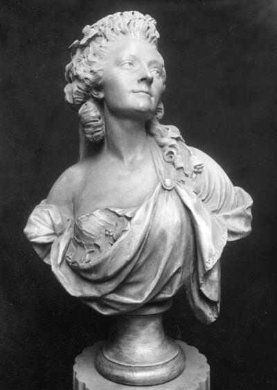 Portrait en buste de Marie-Madeleine Guimard, danseuse à l'Opéra (?)