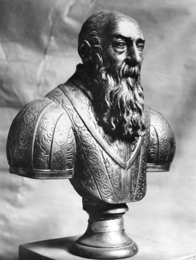 Portrait en buste de Jean Bolgogne (1524-1608)