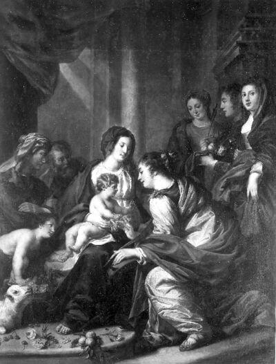 Mystiek huwelijk van de H. Catharina van Alexandrië