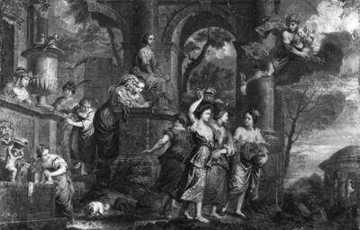 Hermes wordt verliefd op Hersea