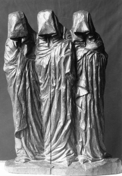 Les (trois) saintes femmes (au tombeau) Les trois pleureuses