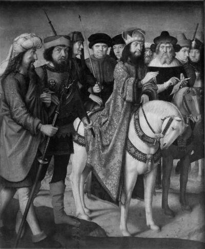 Pilatus en de Joden op Golgotha (Quod scripsi, scripsi)