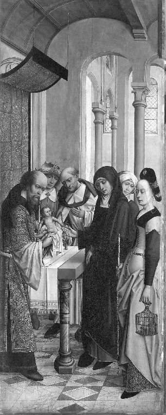 Retabel van de abdij van Affligem Besnijdenis