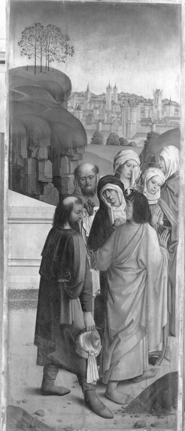 Retabel van de abdij van Affligem Verlaten van Christus' graf