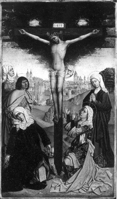 Retabel van de abdij van Affligem Christus aan het Kruis