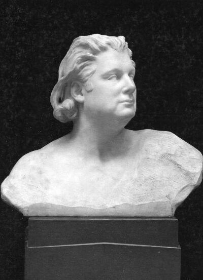 Portrait de Eugène Ysaye, violoniste (1858-1931)