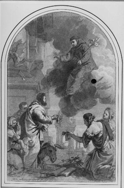Verschijning van de Heilige Dominicus